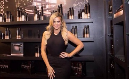 LANSARE KARDASHIAN BEAUTY HAIR IN DUBAI!