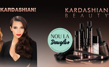 PRODUSELE KARDASHIAN BEAUTY HAIR SUNT DISPONIBILE IN MAGAZINELE DOUGLAS