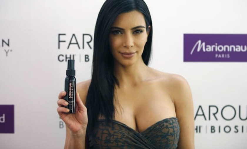 LANSARE KARDASHIAN BEAUTY HAIR IN PARIS!